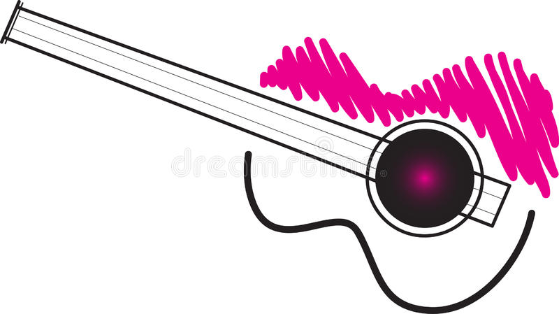 Download Guitar stock vector. Image of record, acoustic, book - 28111520