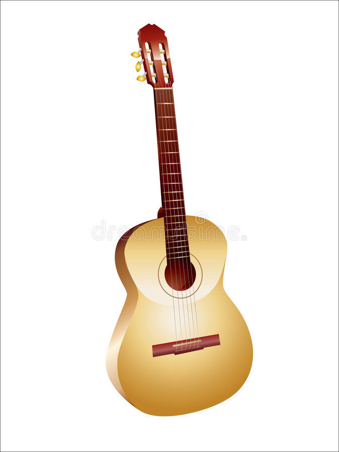 Download Guitar stock vector. Image of roll, equipment, musical - 4299444