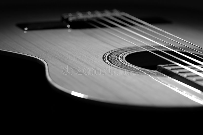 Download Guitar stock image. Image of black, angie, riff, blues - 515751