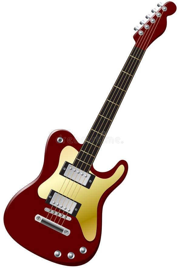 Guitar royalty free illustration