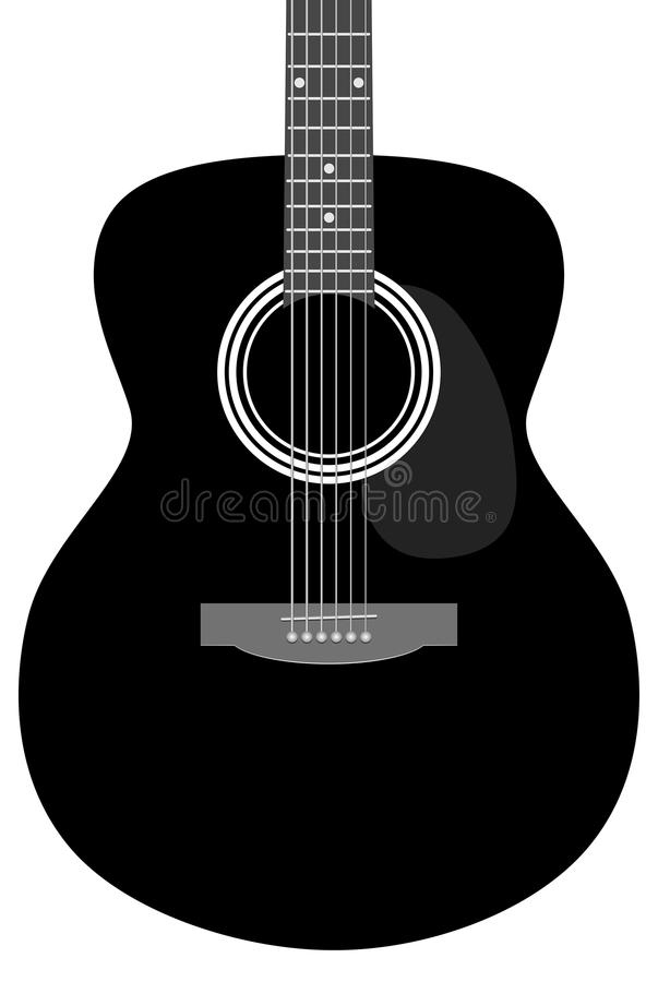 Guitar - abstract part of musical instrument. Abstract part of musical instrument - guitar - vector illustration vector illustration