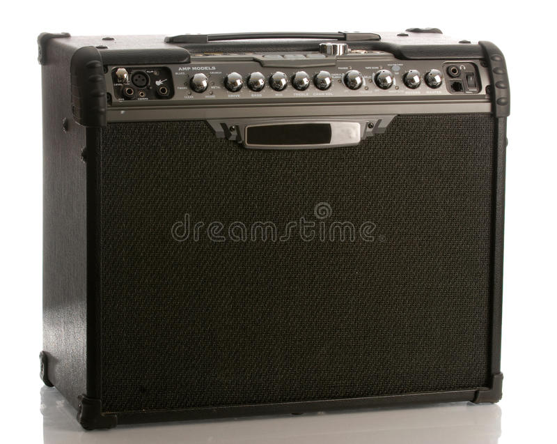 Guitar amp stock photos