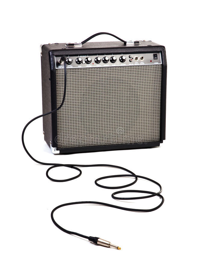 Free Guitar Amp Royalty Free Stock Photography - 16517307