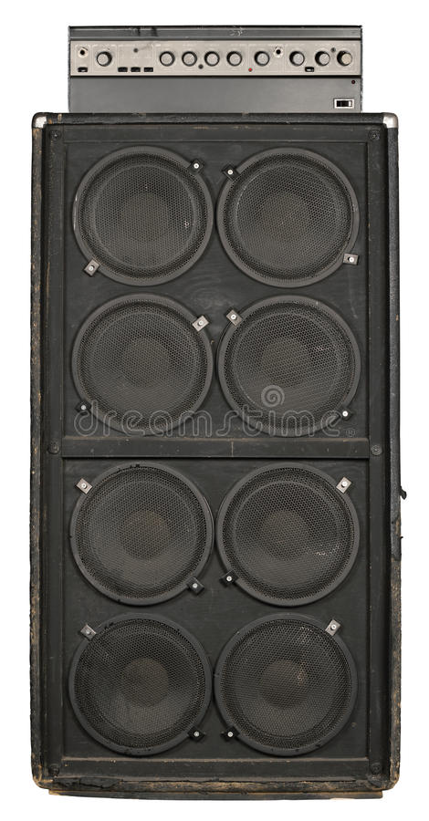 Download Guitar Or Bass Amplifier Royalty Free Stock Image - Image: 15058476
