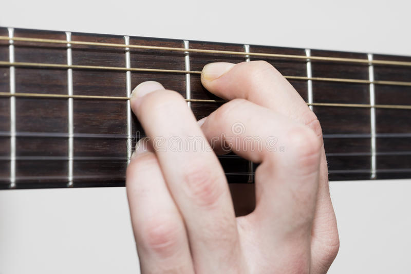 Guitar Chords stock image. Image of classic, fretboard - 82800415