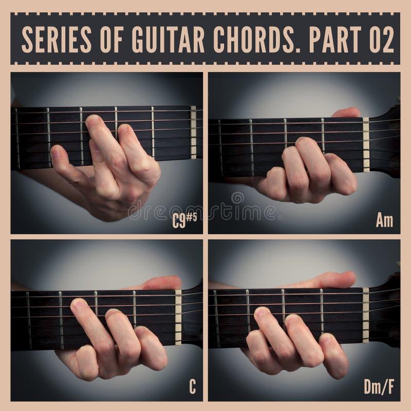 Guitar chords stock illustration. Illustration of human - 44184062