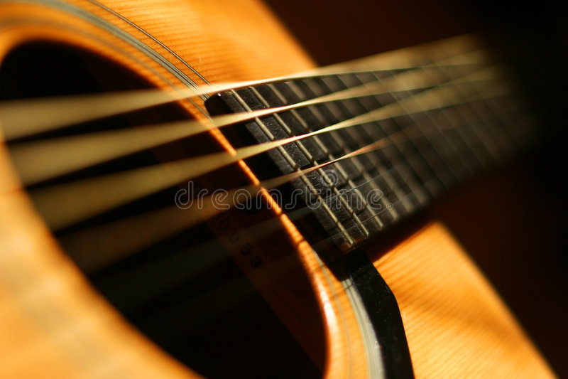 Guitar close-up. Guitar