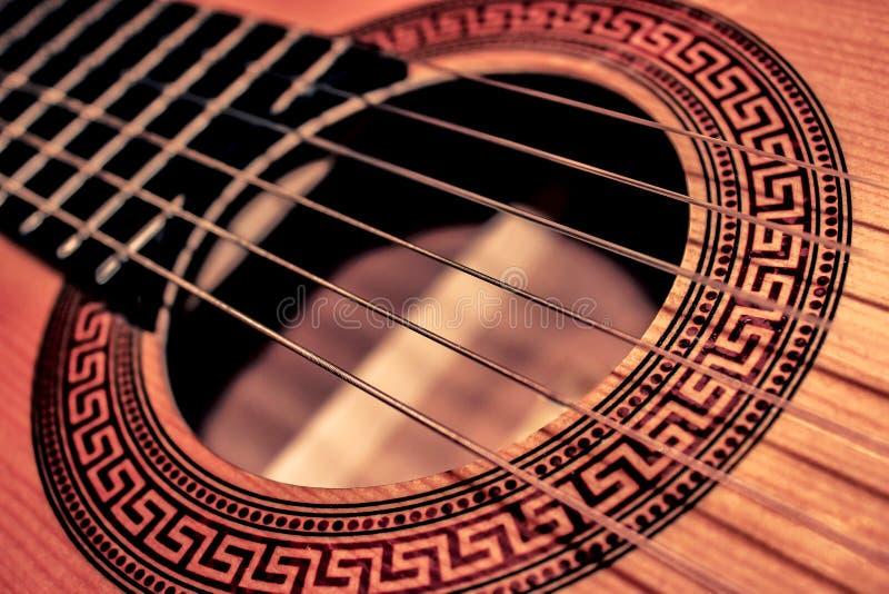 Guitar - Close-up stock photography
