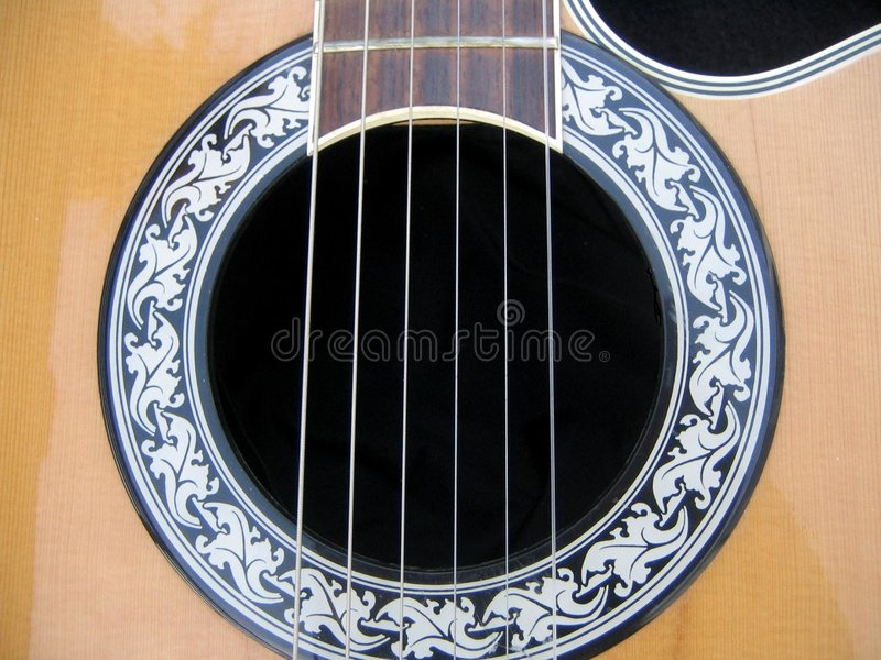 Guitar detail. Background stock images