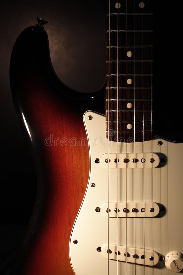 Free Guitar Fender Stratocaster Stock Photography - 5087832