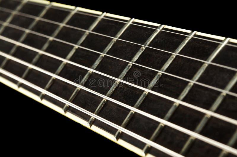 Download Guitar Fretboard Closeup stock photo. Image of nobody - 26122574