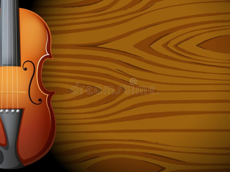Download A Guitar In Front Of A Wooden Wall Stock Images - Image: 33072624