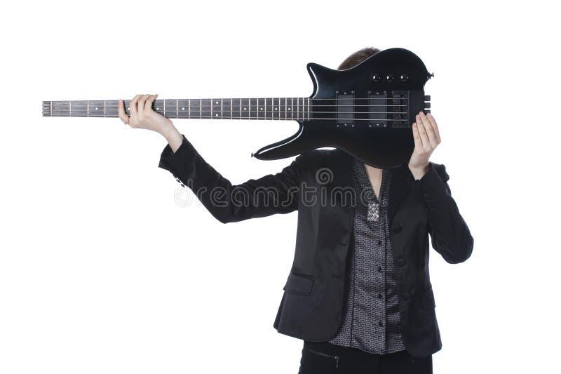 Guitar-girl Stock Photography