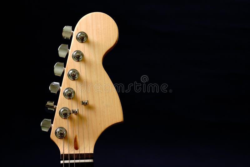 Guitar headstock royalty free stock photos