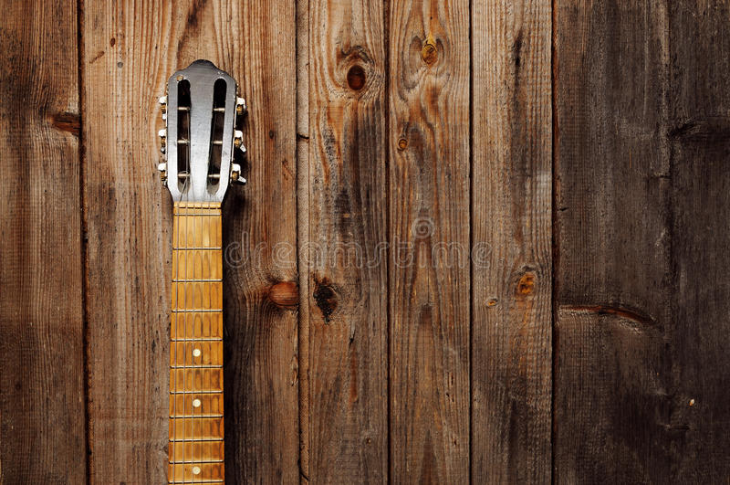 Download Guitar Neck stock image. Image of dark, dirty, neck, rock - 24844879