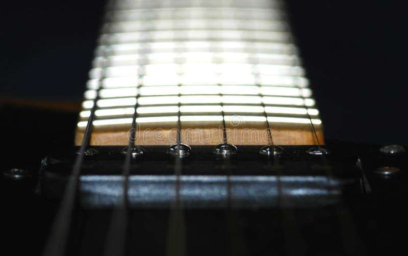 Guitar Neck stock photos
