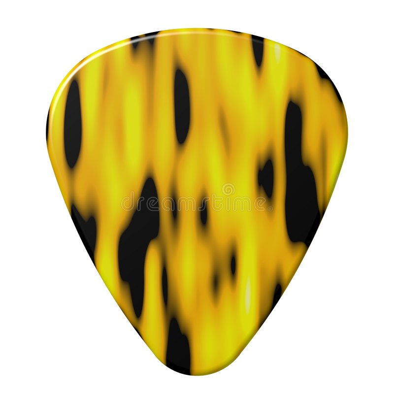 Free Guitar Pick Royalty Free Stock Photography - 6811607