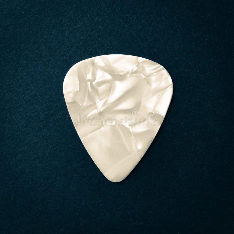 Guitar pick. Close up of Guitar pick stock images