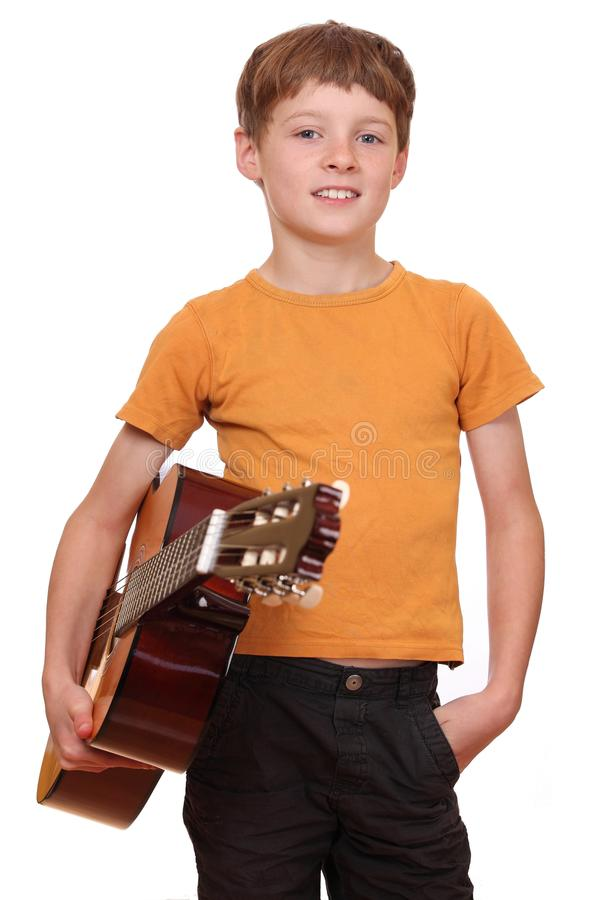 Download Guitar player stock image. Image of musician, child, education - 21711561