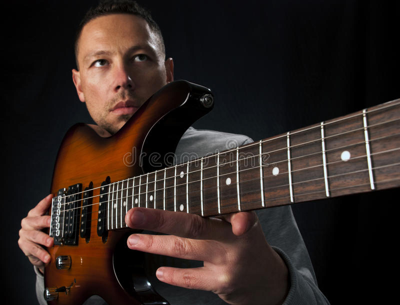 Download Guitar Player stock image. Image of performer, guitar - 22243717