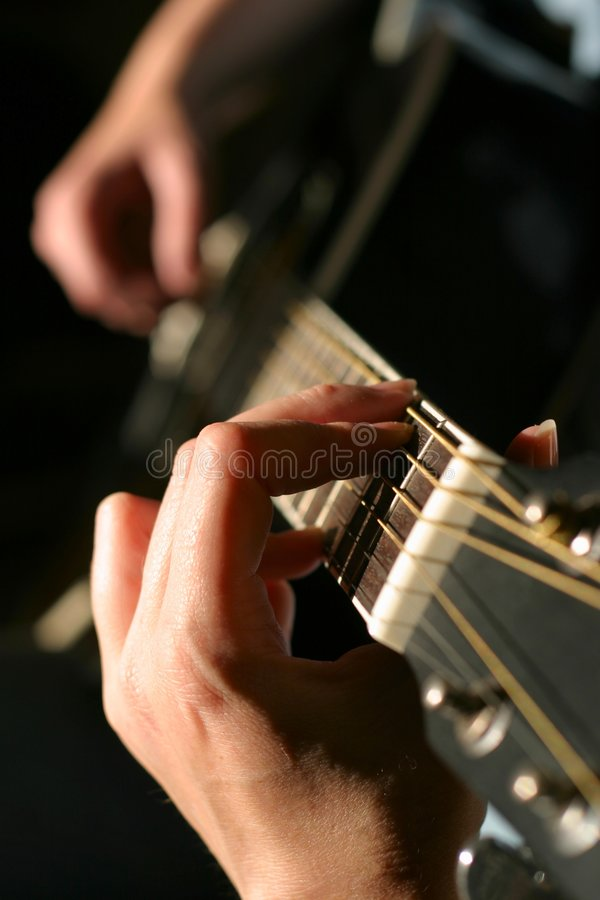 Free Guitar Player Stock Photography - 230162