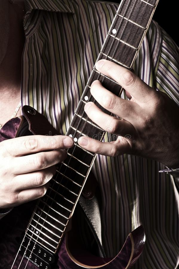 Download Guitar Player stock photo. Image of guitar, n, fingers - 25963370