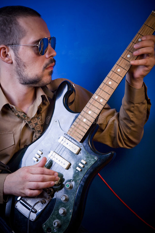 Download Guitar player stock image. Image of music, playing, alternative - 2887797