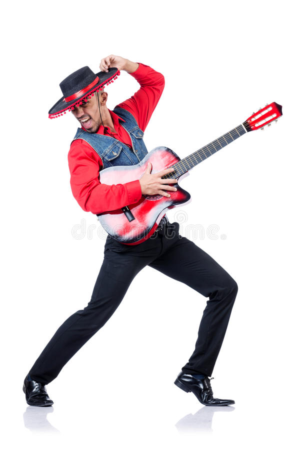 Download Guitar player stock photo. Image of musician, melody - 30095354