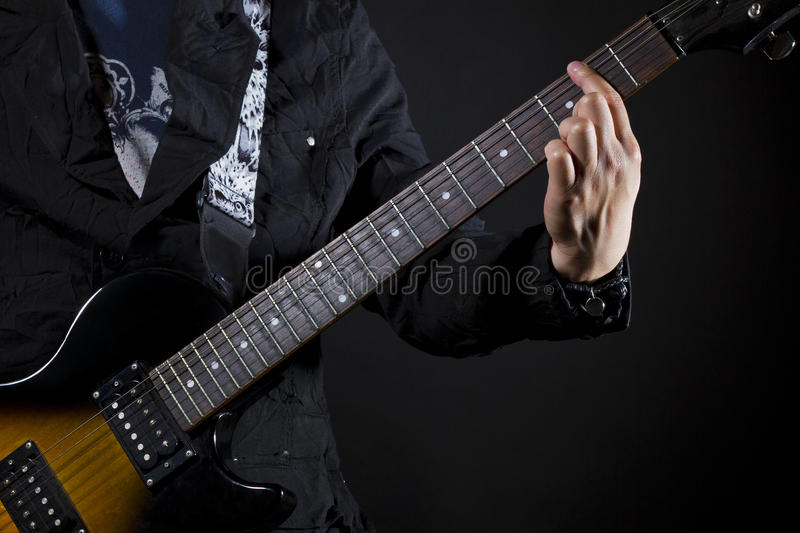 Guitar Power Chords Stock Photo Image Of Hobby Jazz 25558204