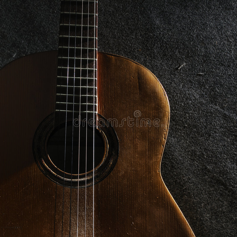 Download Guitar still life stock image. Image of life, decay, classic - 6416775