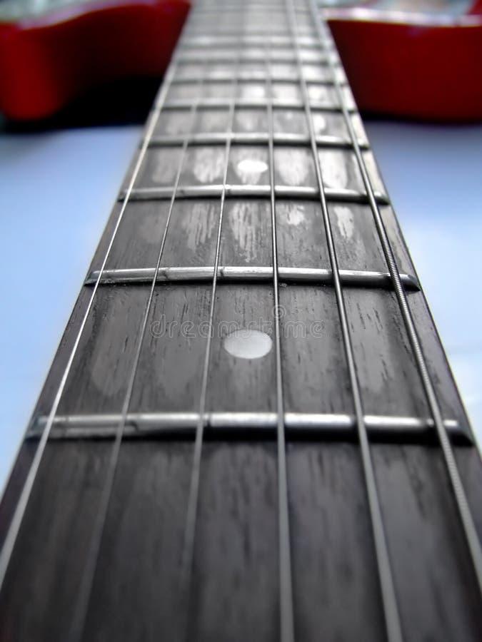 Guitar strings stock images