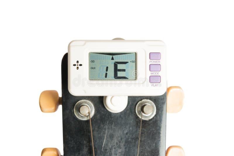 guitar tuner stock image image of electrical musical 41335265. Black Bedroom Furniture Sets. Home Design Ideas