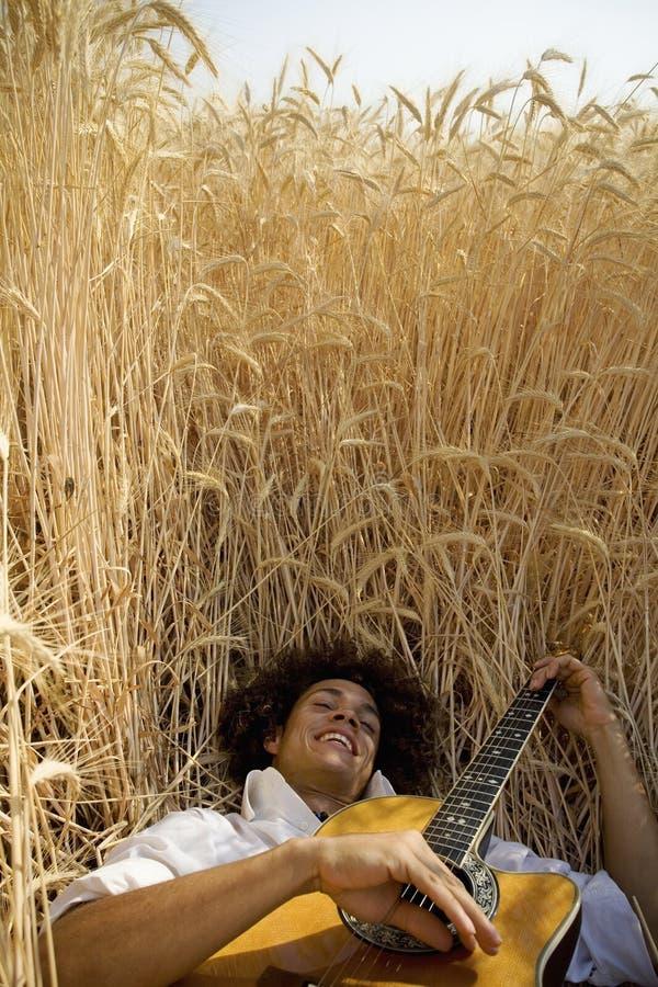 guitar05 παιχνίδι στοκ φωτογραφίες