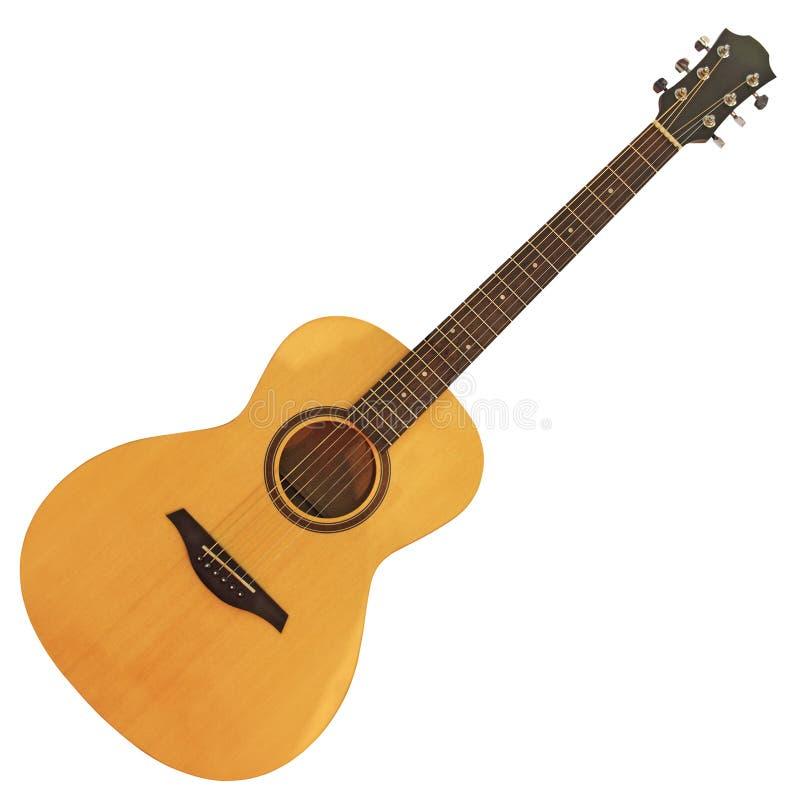 Guitar2 acoustique photographie stock libre de droits