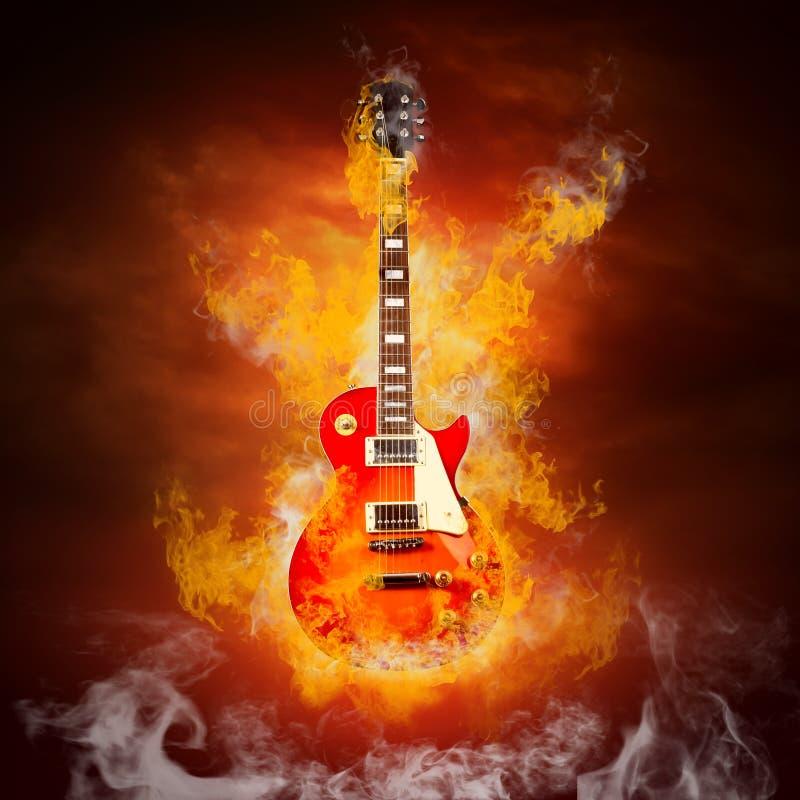 Guitara photo libre de droits