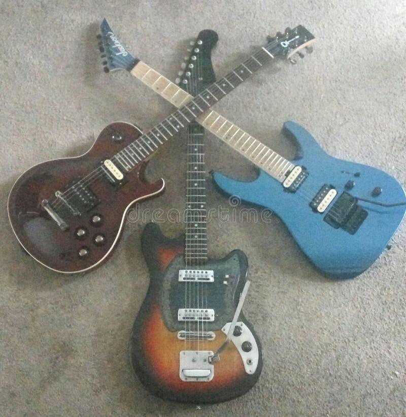 Guitarcross zdjęcie stock
