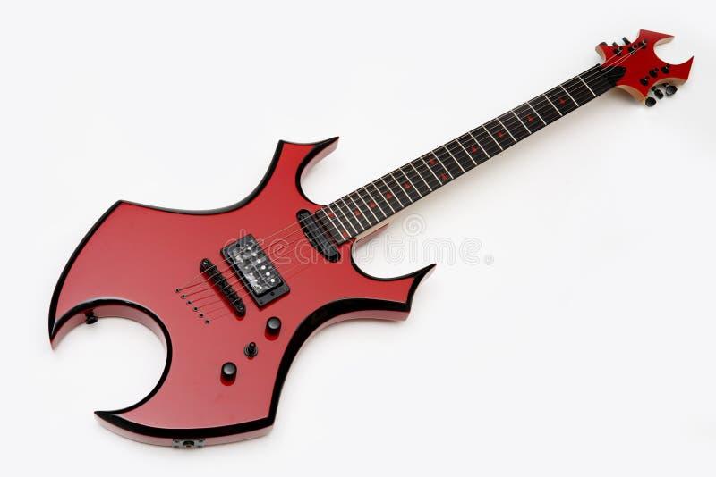 Guitare électrique photo libre de droits