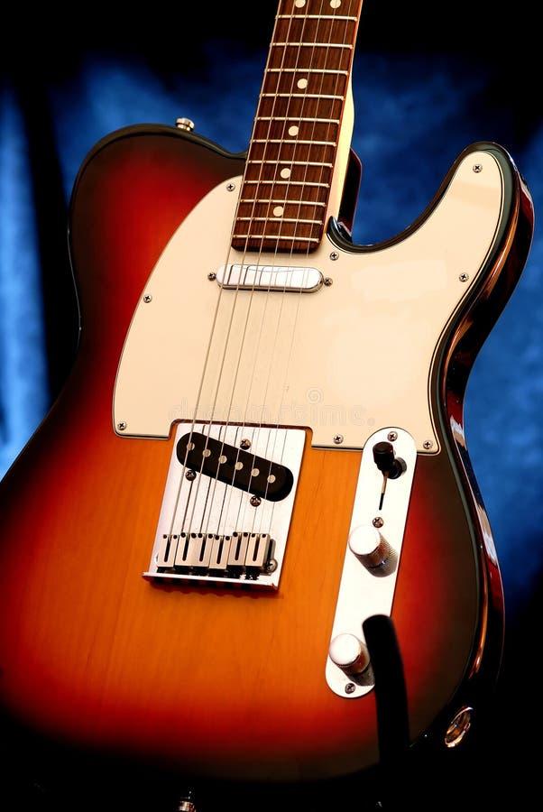 Guitare électrique 5 photo libre de droits