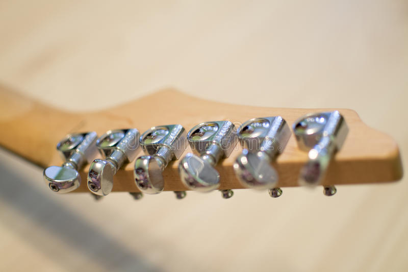 Guitare électrique photographie stock libre de droits