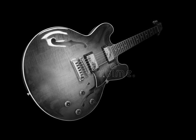 Guitare électrique classique images libres de droits