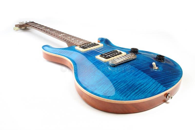 guitare électrique d'isolement photo libre de droits