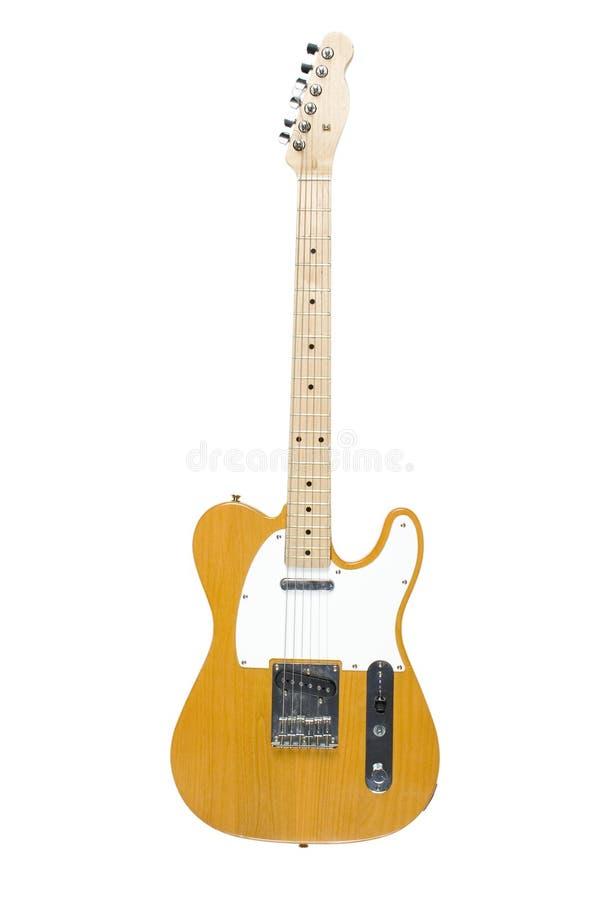 Guitare électrique de Telecaster image stock