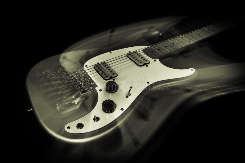 Guitare électrique Ghost photographie stock
