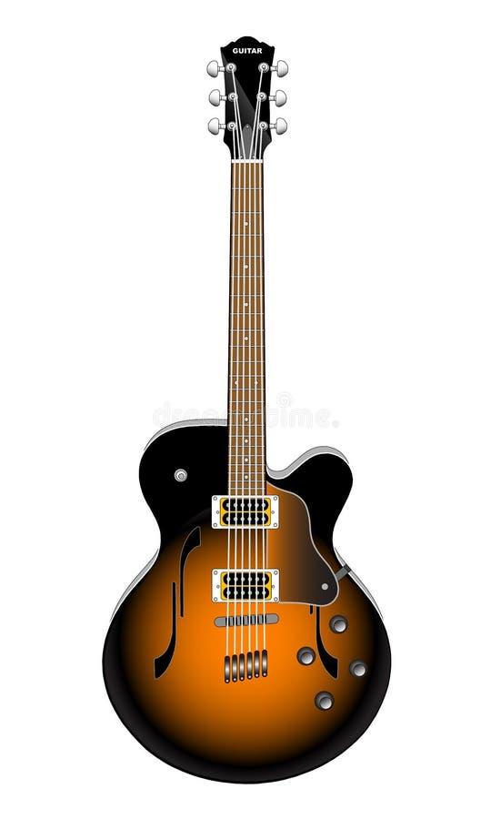 Guitare illustration libre de droits