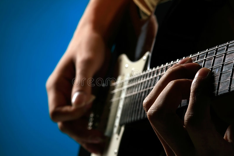 Guitare photo libre de droits