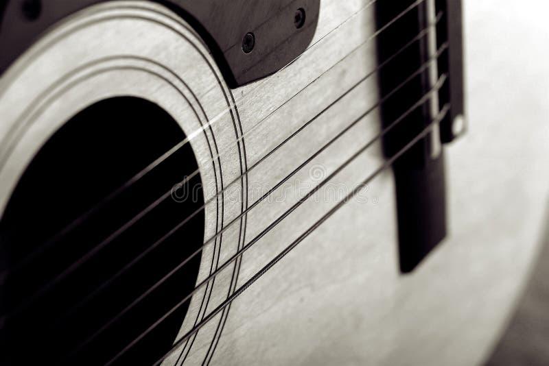 Guitare abstraite image stock