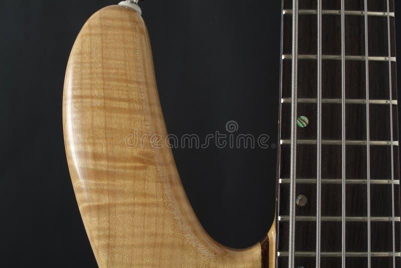 Guitare basse électrique photographie stock