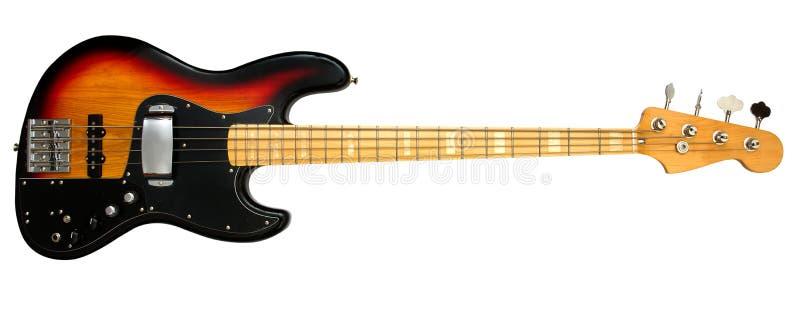 Guitare basse image stock