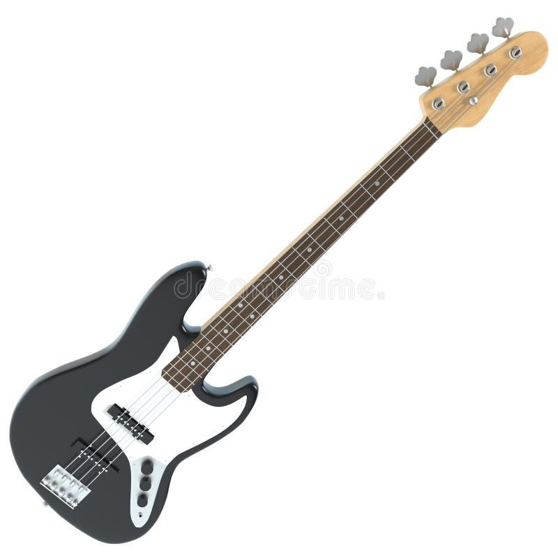 Guitare basse illustration libre de droits