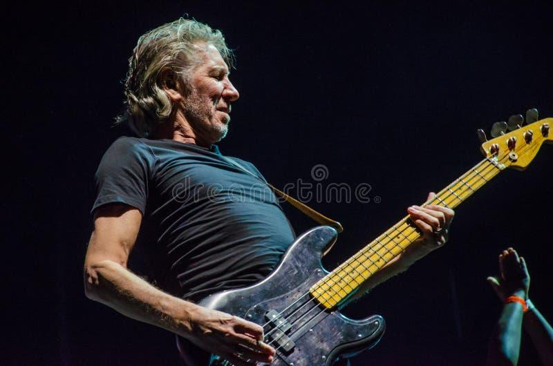Guitare basse de Roger Waters photo libre de droits